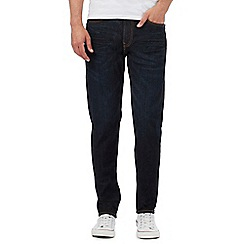 Lee - Dark blue Arvin rinse wash jeans