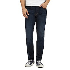 Lee - Dark blue 'Arvin Fast' tapered jeans