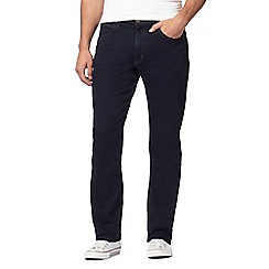 Lee - Navy 'Brooklyn Straight' jeans