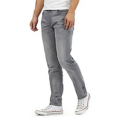 Lee - Light grey 'Arvin Sidewalk' regular fit jeans