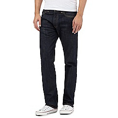 Levi's - Big and tall 501® marlon blue straight leg jeans
