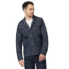 G-Star - Navy denim blazer