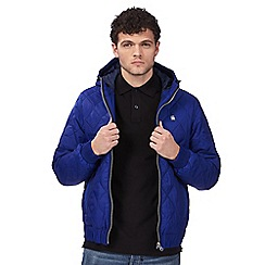 G-Star Raw - Dark blue quilted jacket