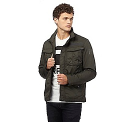 G-Star Raw - Dark green four pocket jacket