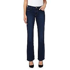 Wrangler - Blue 'Tina' high waisted bootcut jeans