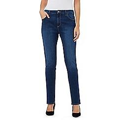 Wrangler - Mid blue boyfriend jeans