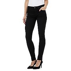 Wrangler - Black skinny jeans