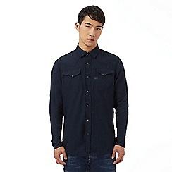 G-Star Raw - Blue two pocket denim shirt