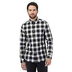 G-Star Raw - Black checked slim fit shirt