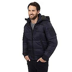 G-Star Raw - Navy hooded bomber jacket
