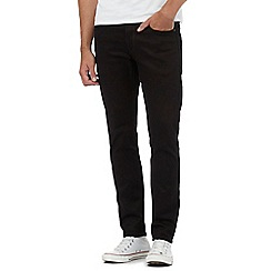 G-Star - Black '3301' slim jeans