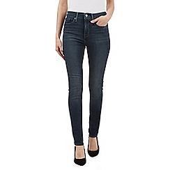 Levi's - Dark blue 311 skinny jeans