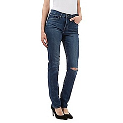 Levi's - Blue slim shaping jeans