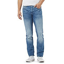 G-Star Raw - Light blue mid wash '3301' straight leg jeans