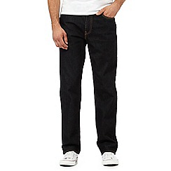Levi's - Dark blue 541 straight fit jeans