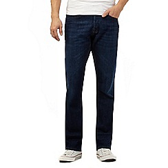 Voi - Dark blue rinse wash bootcut jeans