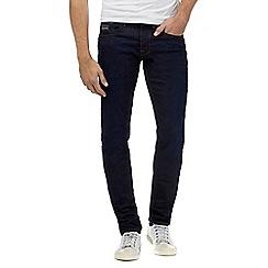 Voi - Dark blue tapered rinse wash jeans