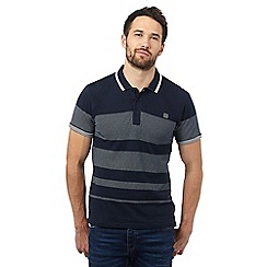 Voi - Navy spotted polo shirt