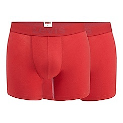 Levi's - Pack of two red boxer briefs