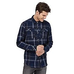 G-Star - Blue checked shirt