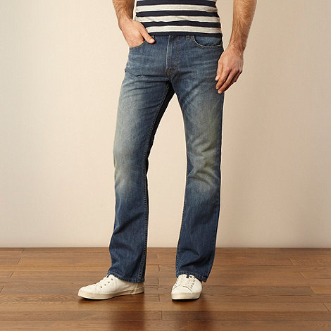 Lee - Rydell mid mlue bootcut jeans