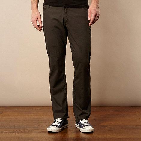 Lee - Brooklyn black straight leg jeans