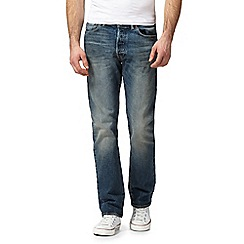 Levi's - Blue 501 regular fit jeans