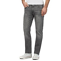 Levi's - Big and tall 511 mid wash dark grey straight fit jeans