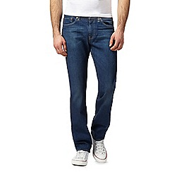 Levi's - Dark blue 'Glastonbury' regular fit jeans