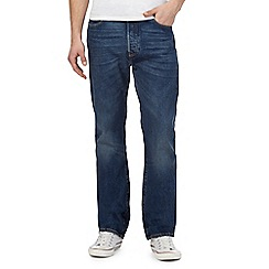 Levi's - Big and tall 501 mid wash blue straight leg jeans