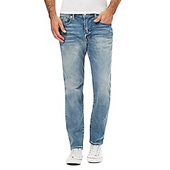 Levi's - Blue 502 light wash stretch jeans