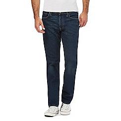 Levi's - Blue '504' straight leg jeans