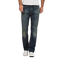 Levi's - Big and tall blue '514' vintage straight leg jeans