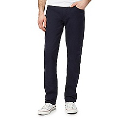 Levi's - Navy 511 slim stretch trousers