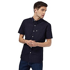 Levi's - Navy printed regular fit shirt
