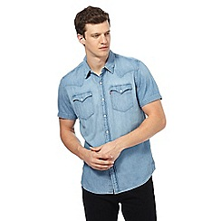 Levi's - Light blue denim shirt