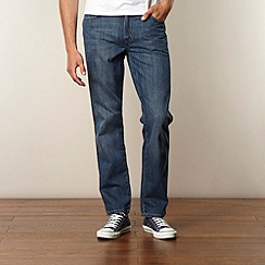 Wrangler - Texas blue straight leg jeans