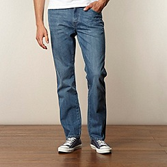 Wrangler - Texas light blue straight leg jeans