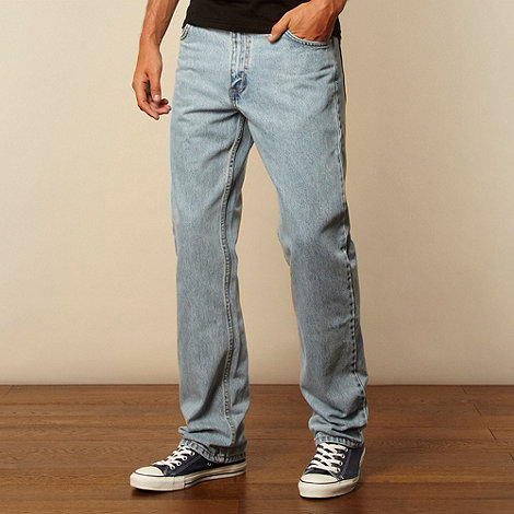 Lee - Brooklyn light blue regular fit jeans