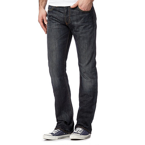 Levi+s - 527&#8482 dusty black bootcut jeans