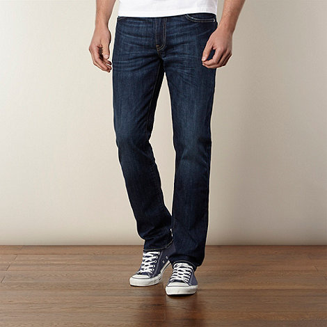 Levi+s - 511&#8482 Rain Shower dark blue skinny fit jeans