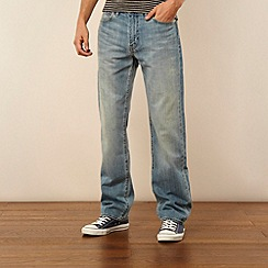 Levi's - 751 light blue straight leg jeans