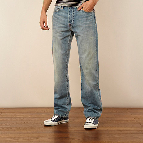 Levi+s - 751&#8482 light blue straight leg jeans