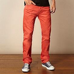 Levi's - 501® dark orange straight leg jeans