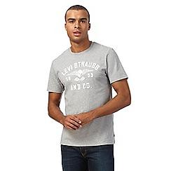 Levi's - Grey logo print t-shirt