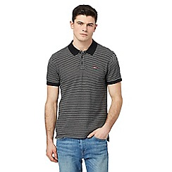 Levi's - Black stripe polo shirt