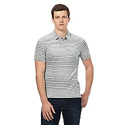 Levi's - Grey striped polo shirt