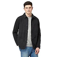 Levi's - Black denim button down jacket