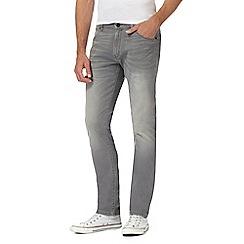 Wrangler - Grey 'Larston' slim fit jeans