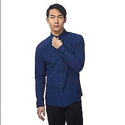 Wrangler - Blue striped shirt